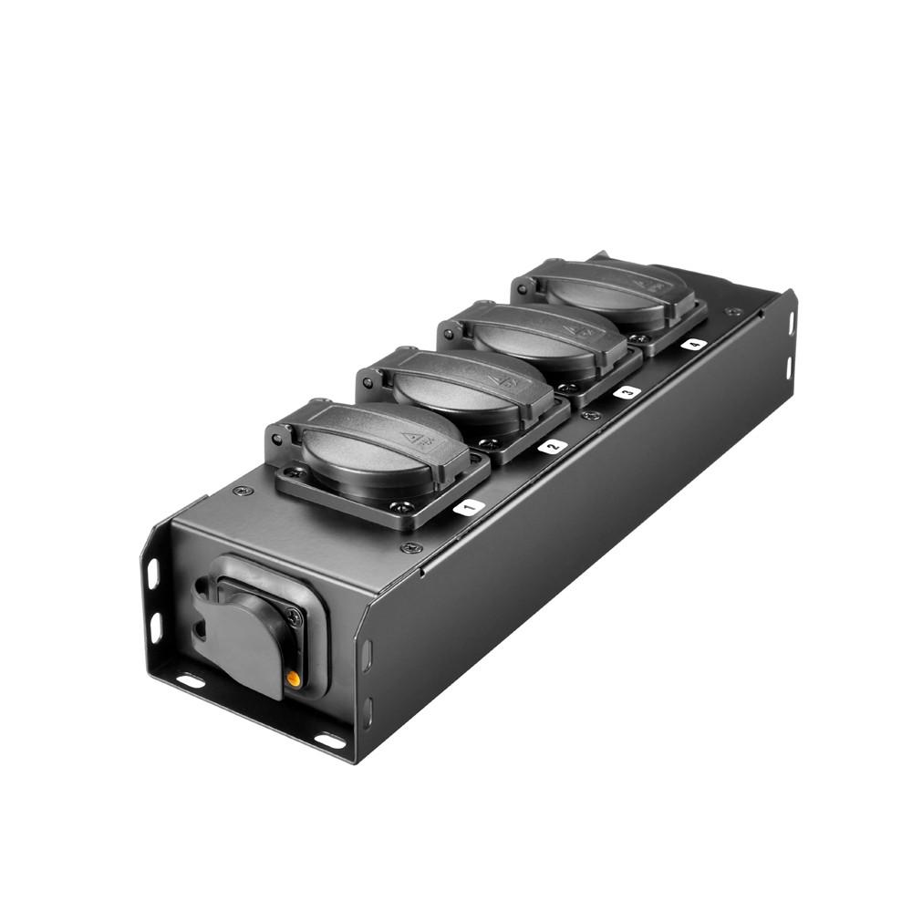 STROMVERTEILER 4x IP54 + POWER TWIST TR1 IN/OUT