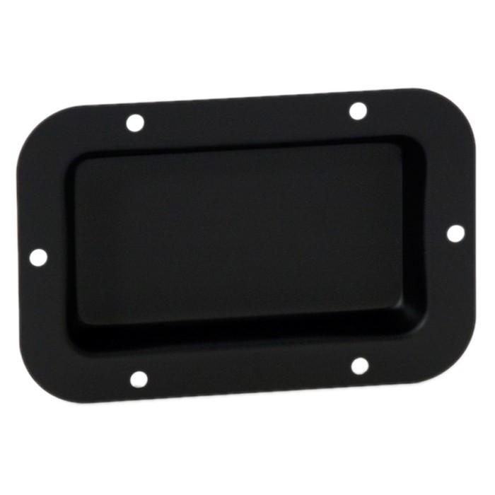 2x Einbauschale schwarz für 2 XLR oder Speakon Buchsen Adam Hall Hardware