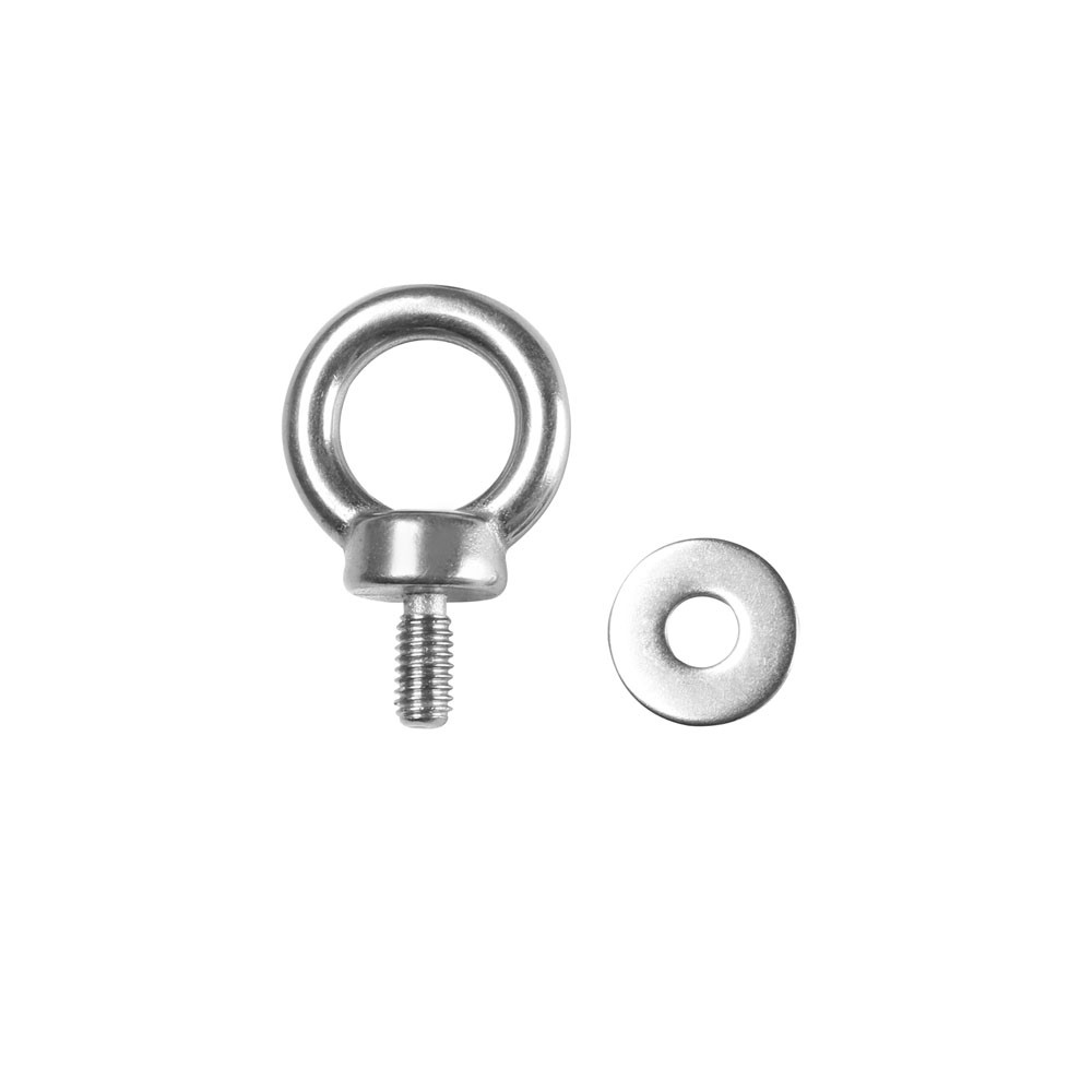 5430 M6 Ring screw stainless steel M6 x 12 mm incl. washer