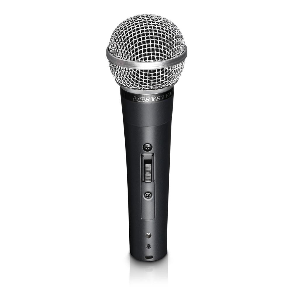 D 1006 Gesangsmikrofon dynamisch mit Schalter