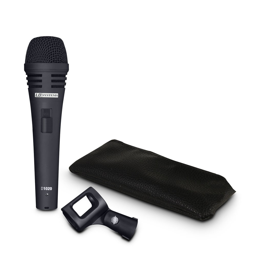 D 1020 Dynamic Vocal Microphone with Switch