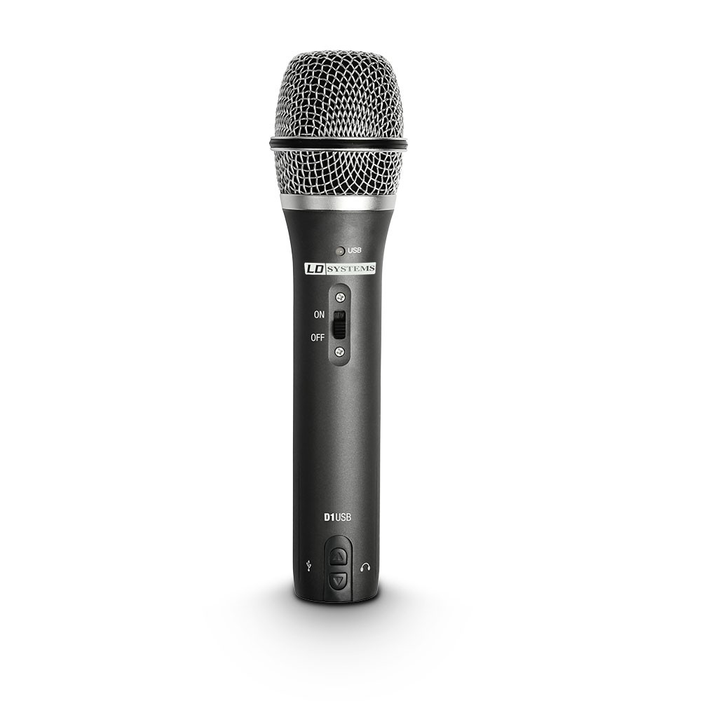 D 1 USB USB / XLR Dynamic Vocal Microphone with Headphone Output