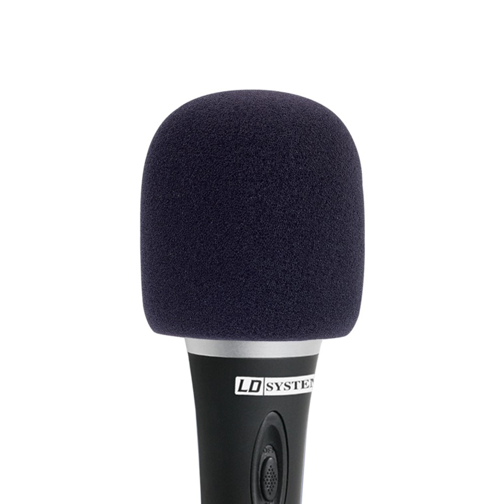 D 913 BLK Windscreen for microphone black