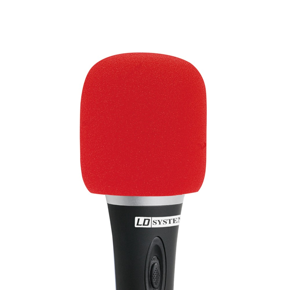 D 913 RED Windscreen for microphone red