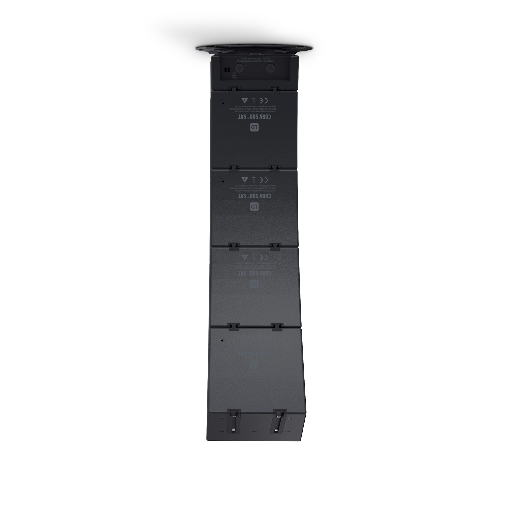 CURV 500 CMB Ceiling mounting bracket for CURV 500® satellites black