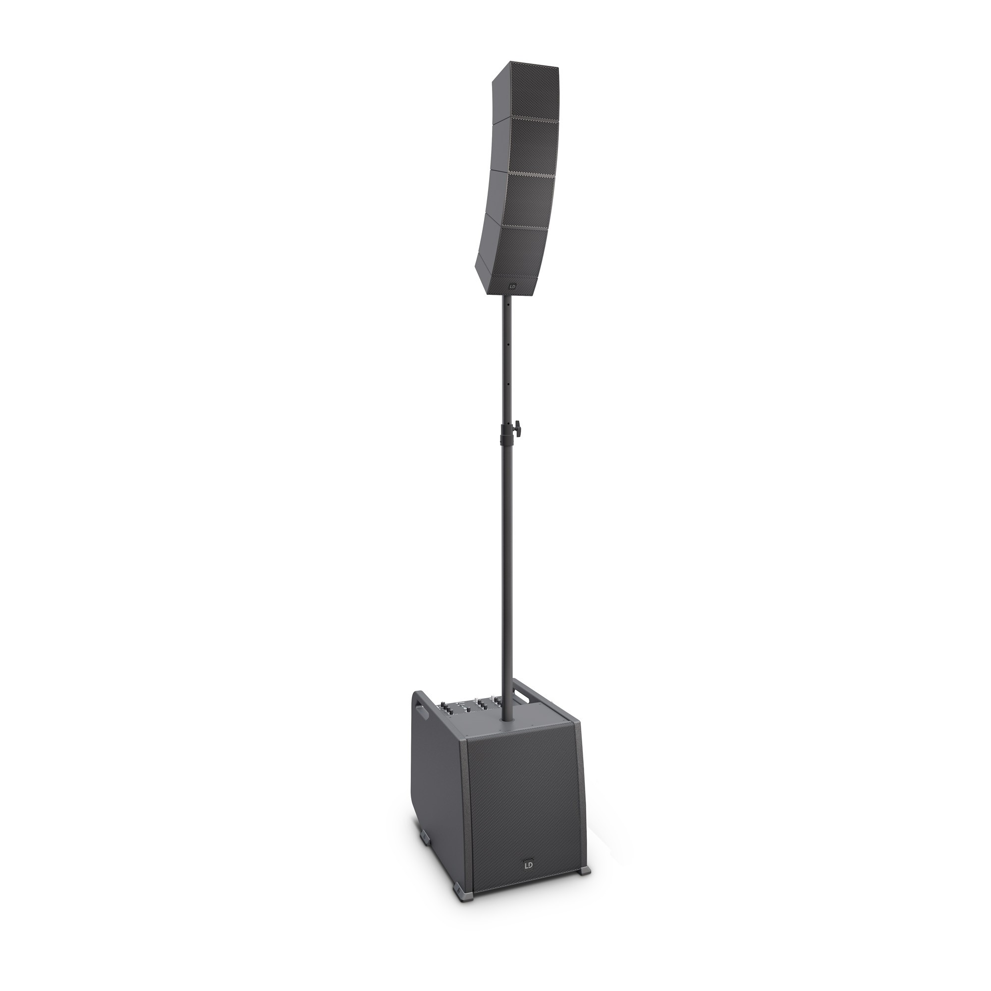 CURV 500 ES Portable Array System Entertainer Set Including Distance Bar & Speaker Cable