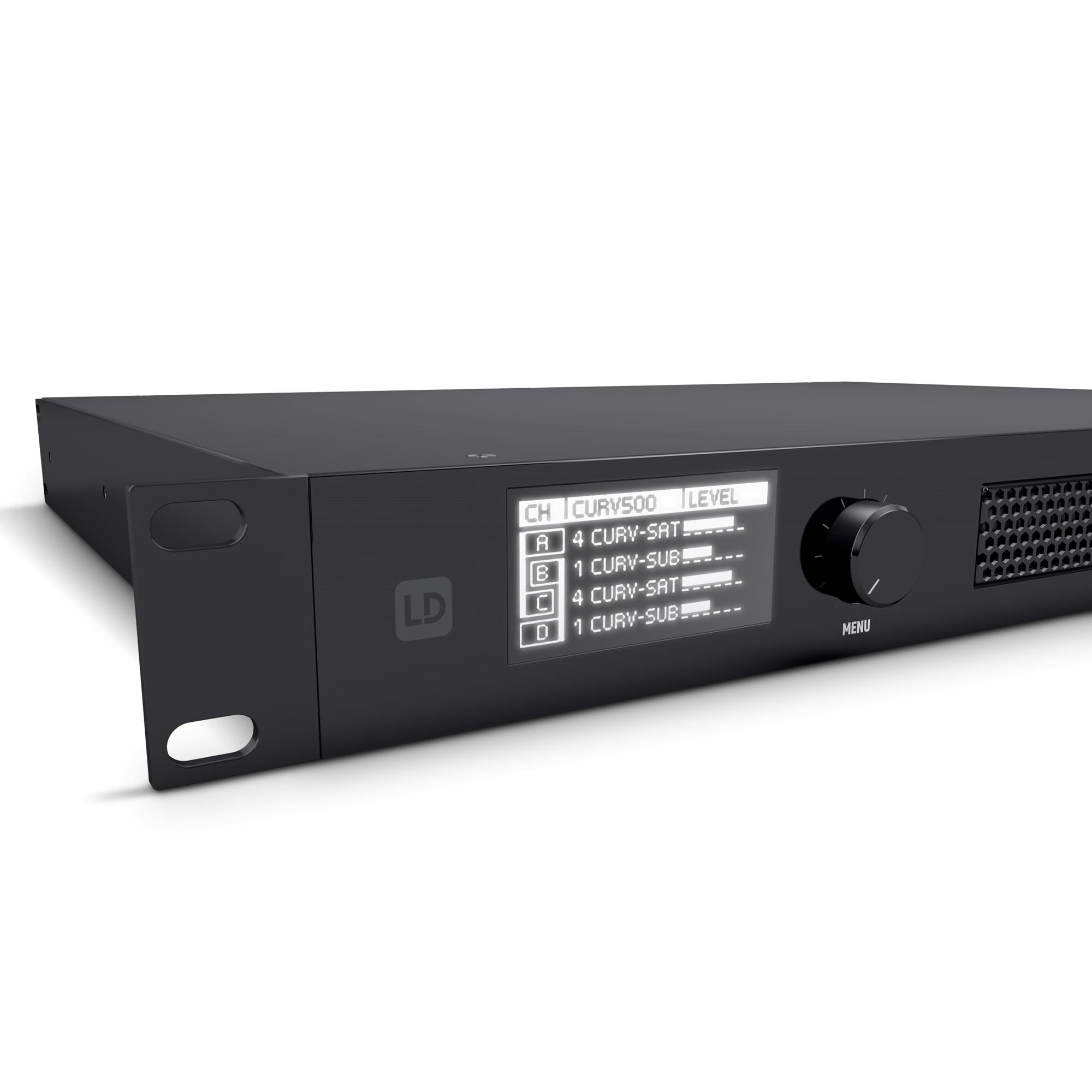 CURV 500 iAMP 4-Channel Class D Installation Amplifier