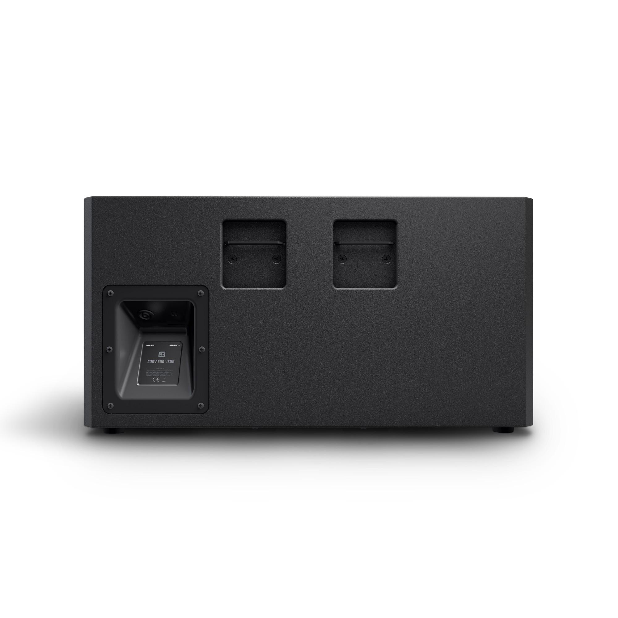 """CURV 500 ISUB 10"""" subwoofer d'installation 200 W noir"""