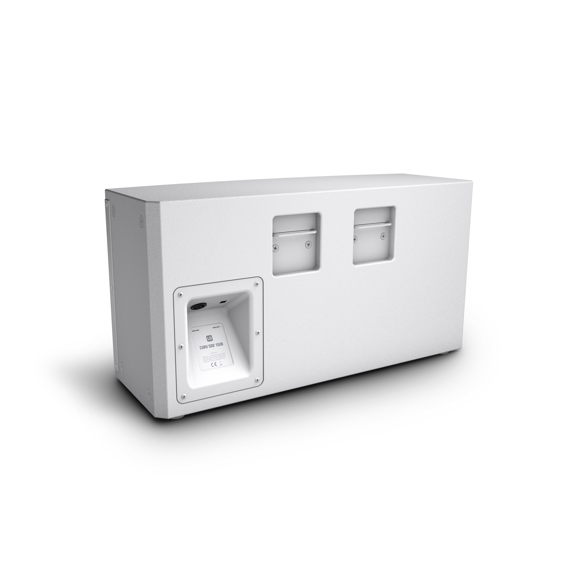 "CURV 500 ISUB W 10"" Installation Subwoofer 200 W white"