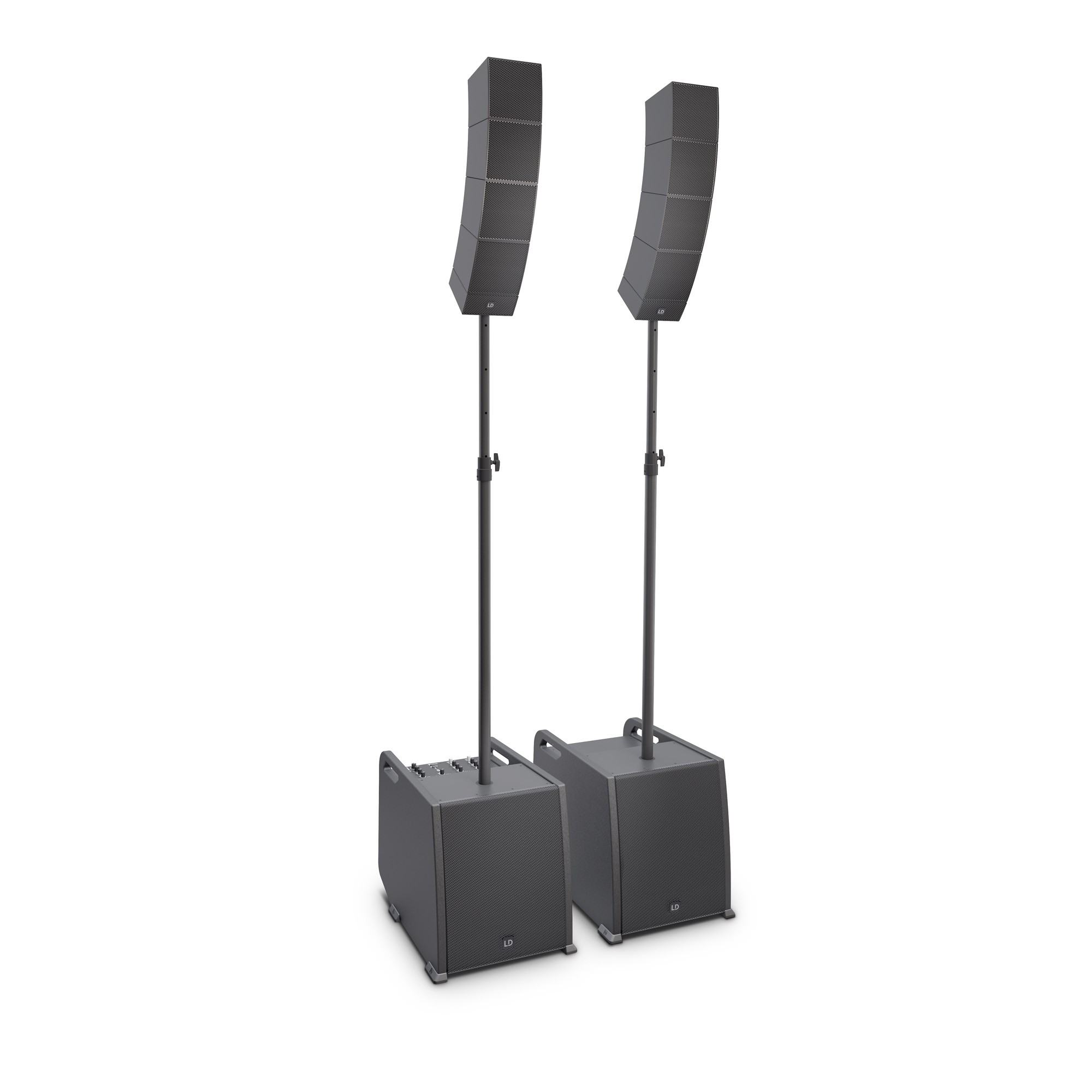 CURV 500 PS Portable Array System Power Set including Distance Bars & Speaker Cables