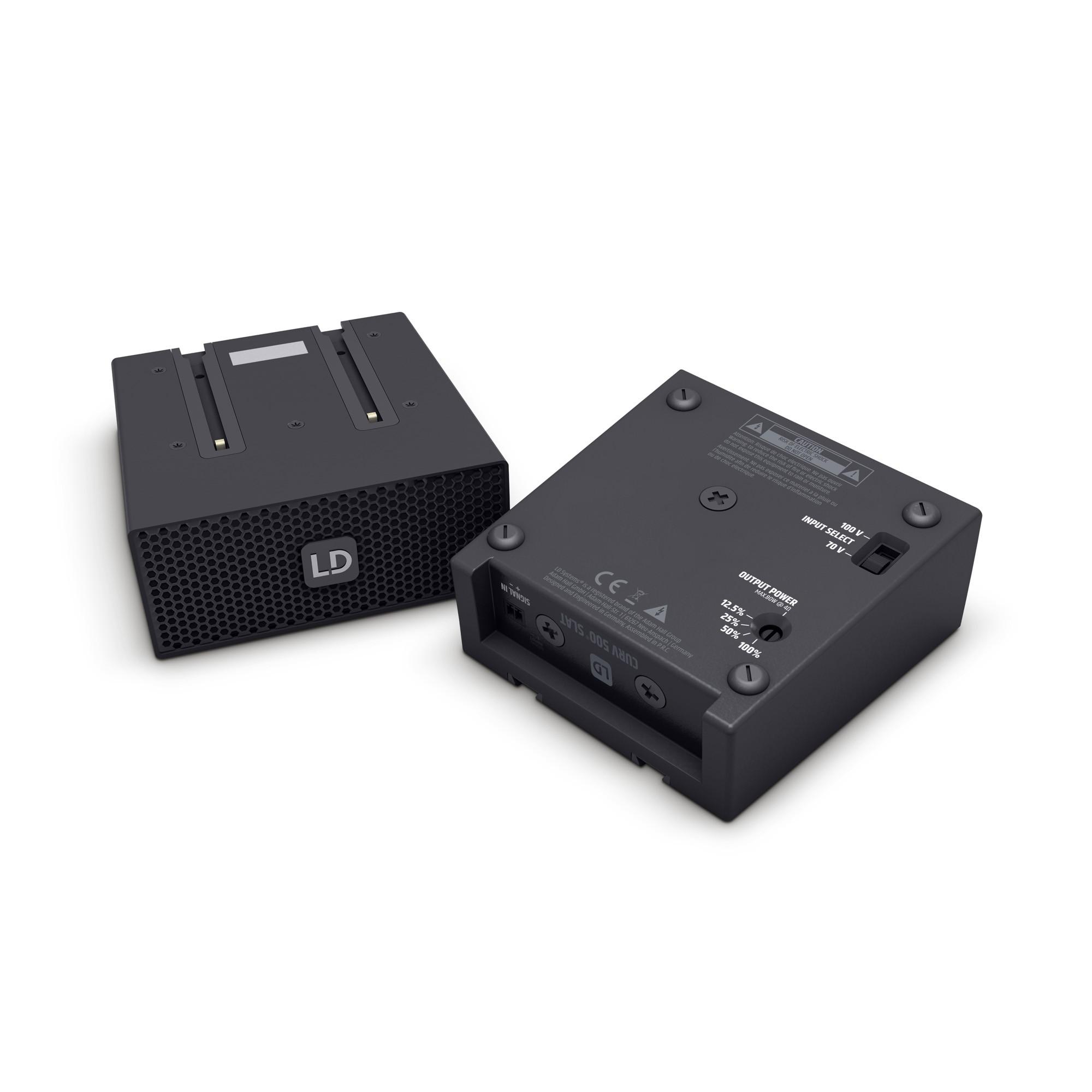 CURV 500 SLAT Curv 500® 70 / 100 Volt SmartLink® Adapter black