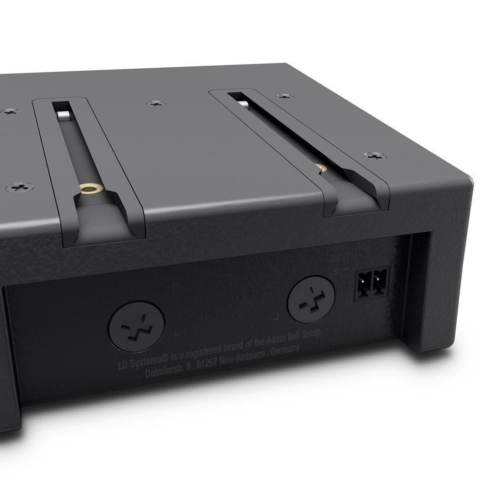 CURV 500 STS Stereo Set aus SmartLink Adapter, Distanzstange, Lautsprecherstativbasis und Kabel