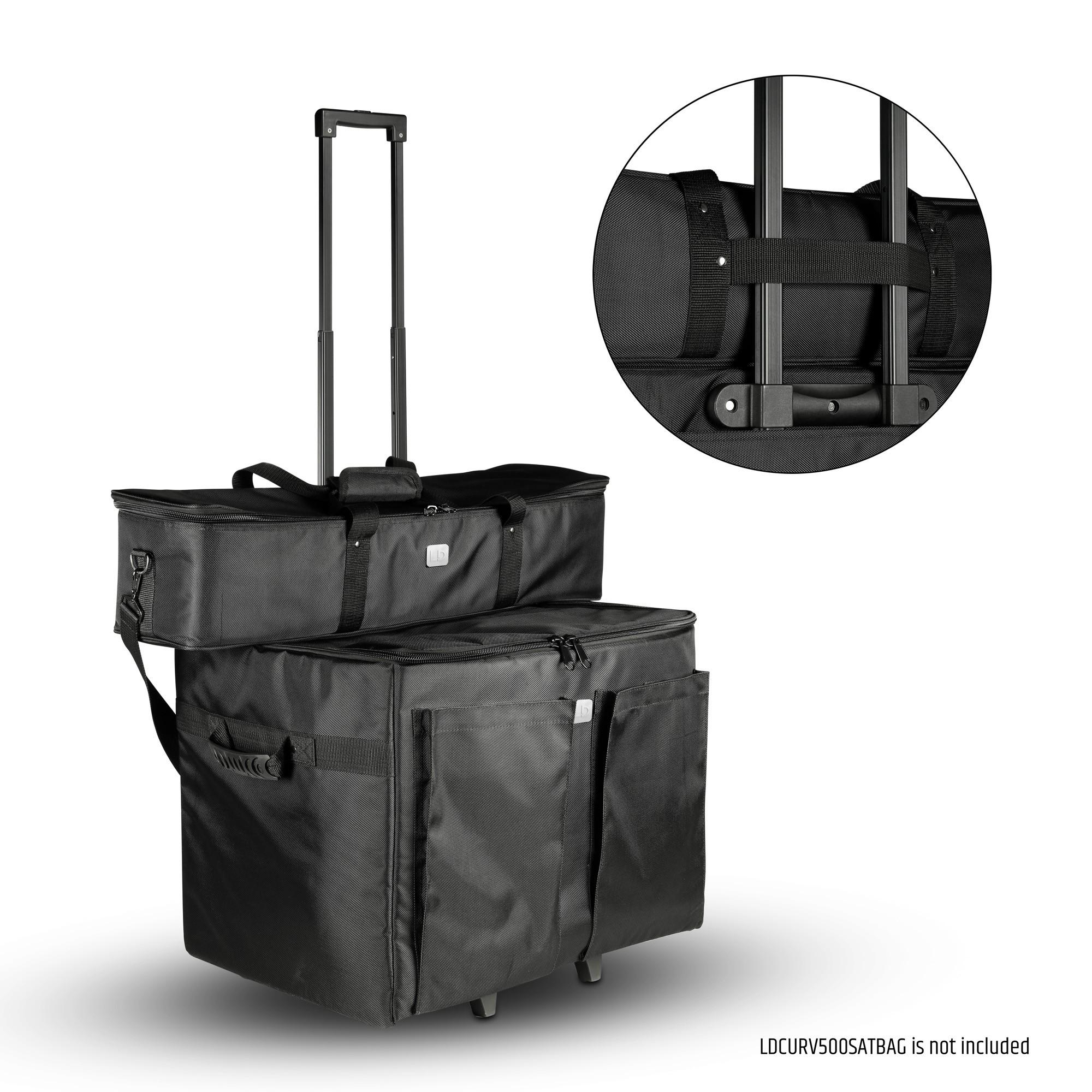 CURV 500 SUB PC Trolley para el subwoofer CURV 500®