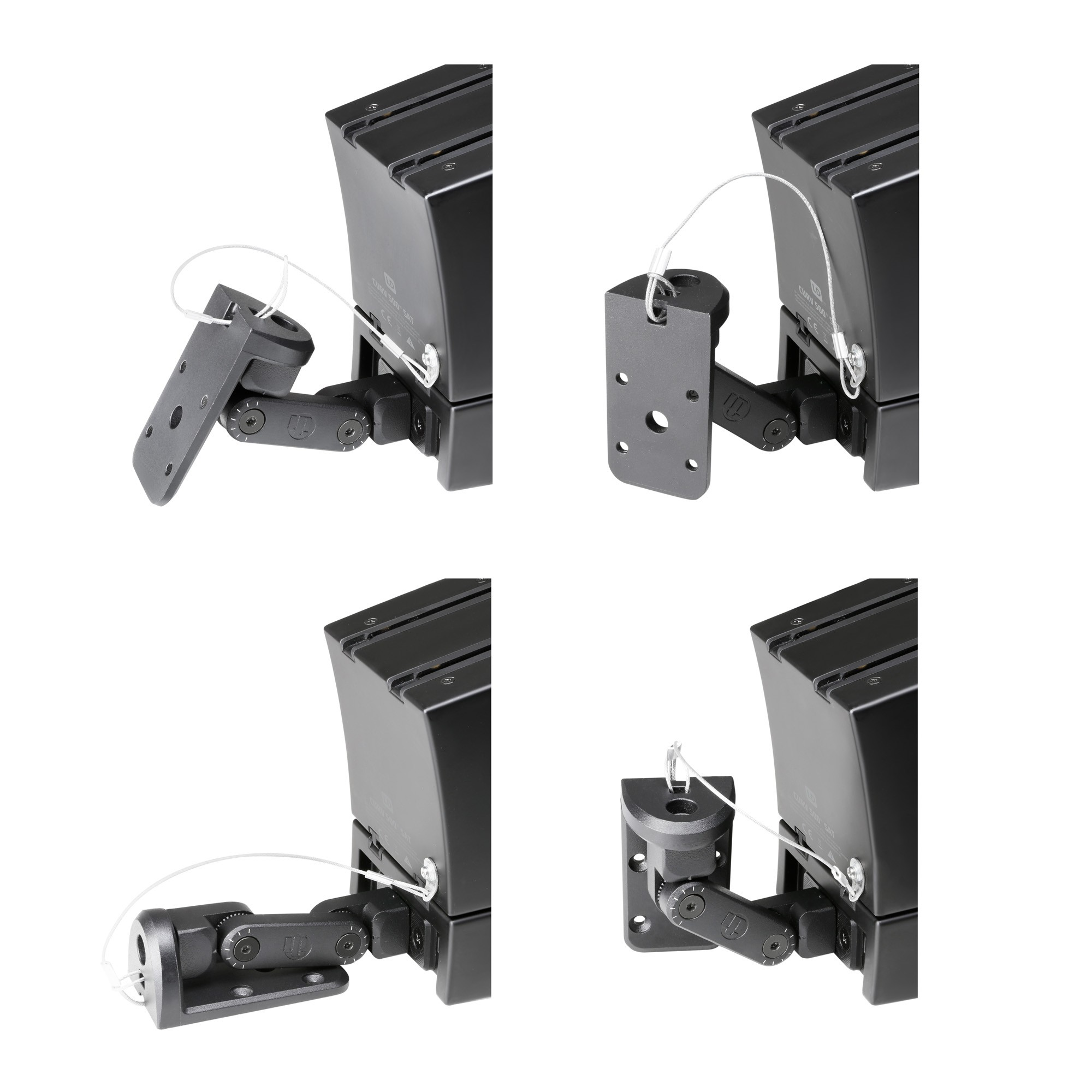 CURV 500 WMB Wall mounting bracket for CURV 500® satellites black