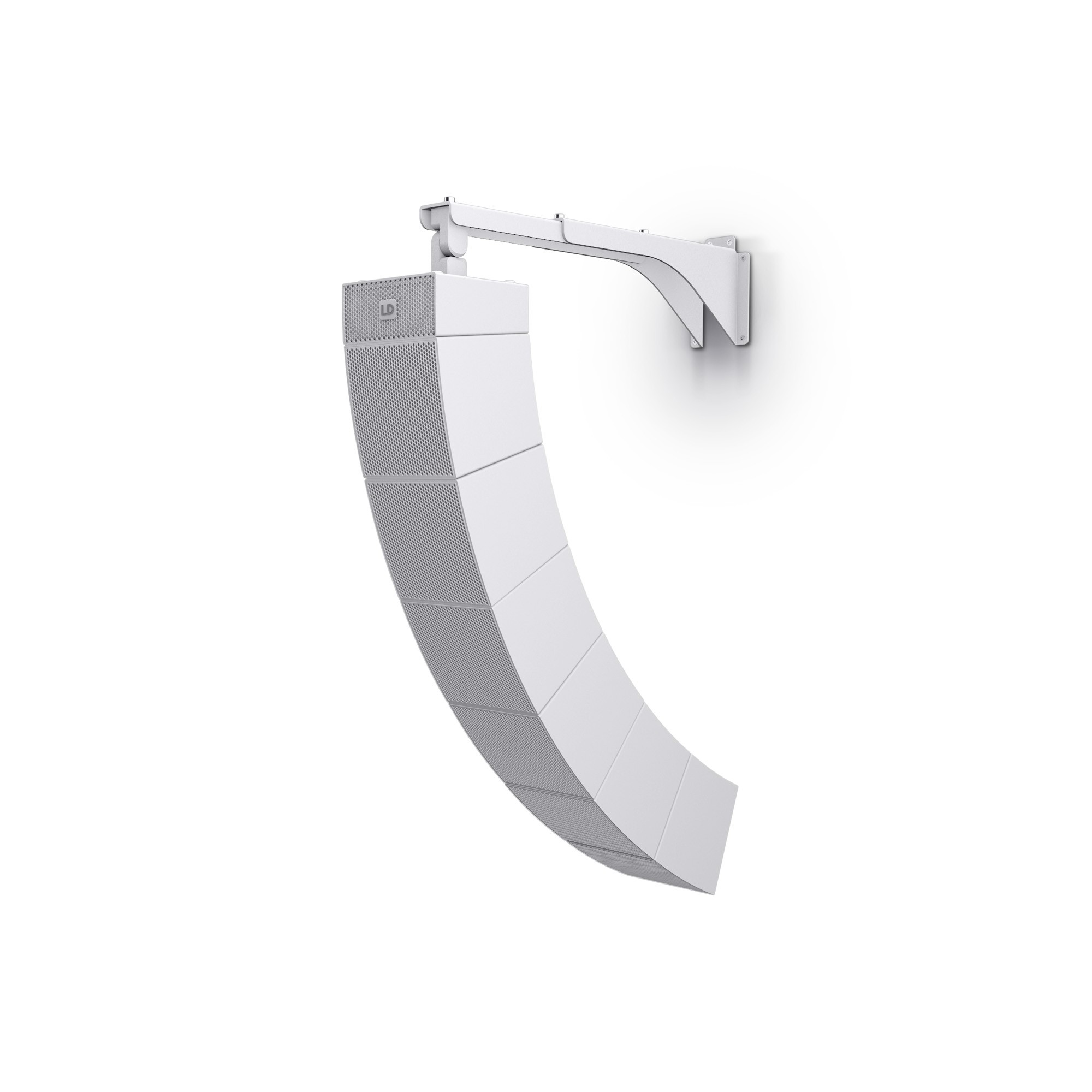 CURV 500 WMBL W Curv 500® Tilt & Swivel Wall Mount Bracket for up to 6 Satellites White