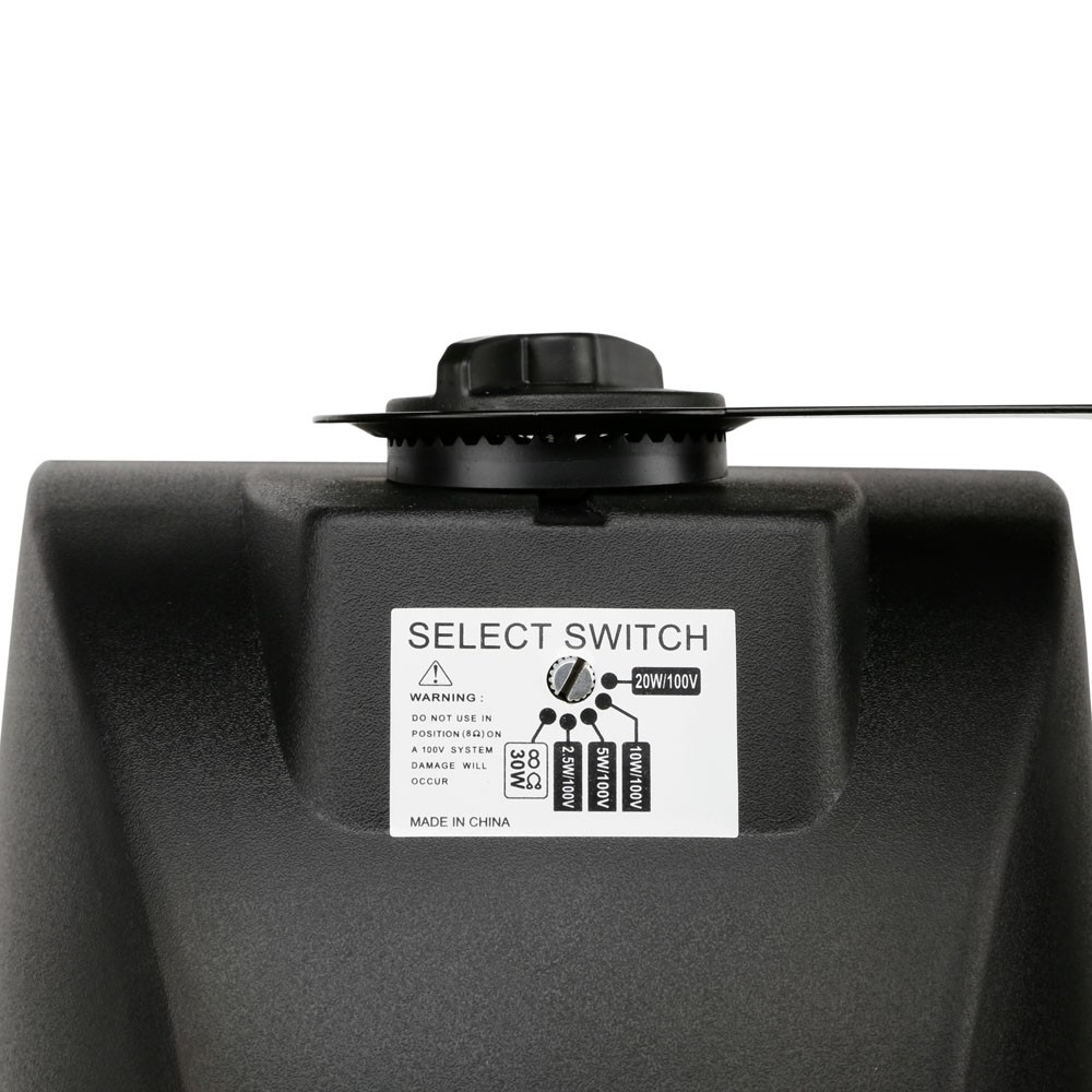 "Contractor CWMS 52 B 100 V 5,25"" 2-Wege-Wandlautsprecher, 100 V, schwarz (Paar)"