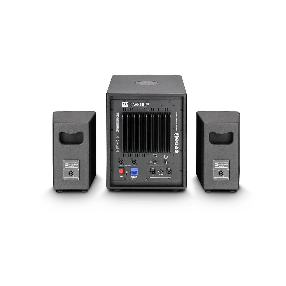 """DAVE 10 G3 Kompaktes 10"""" PA System aktiv"""