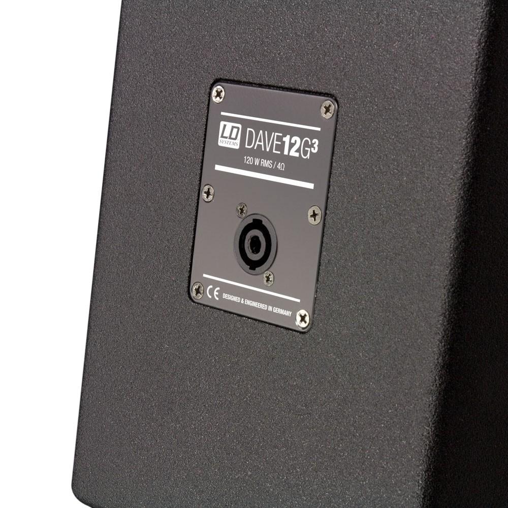"""DAVE 12 G3 Kompaktes 12"""" PA System aktiv"""