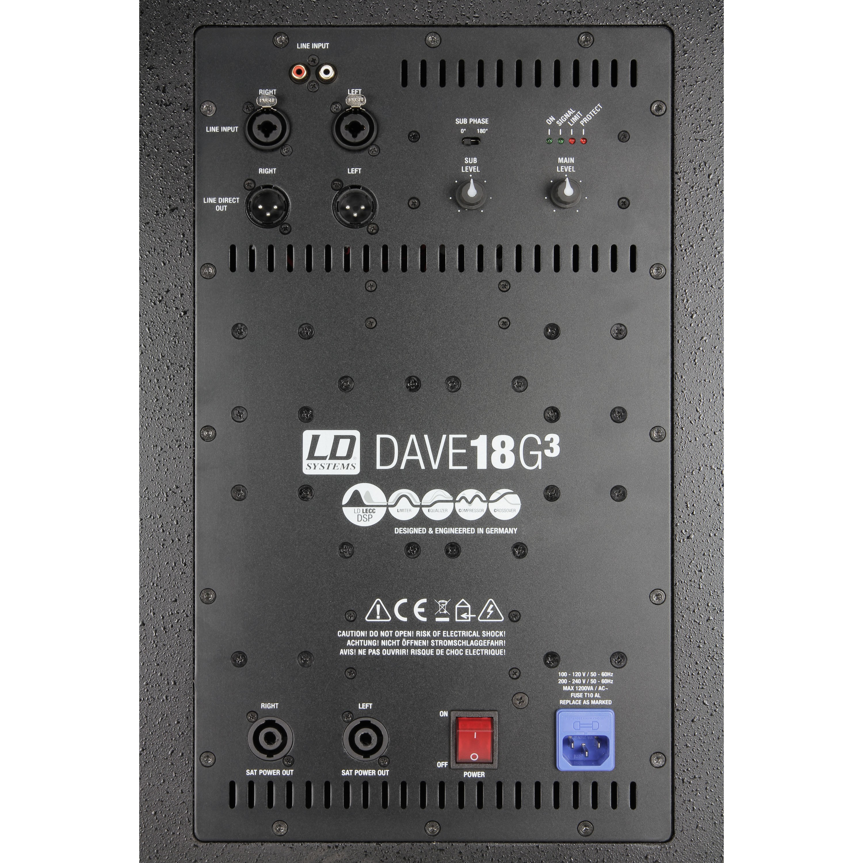"DAVE 18 G3 Compact 18"" active PA System"