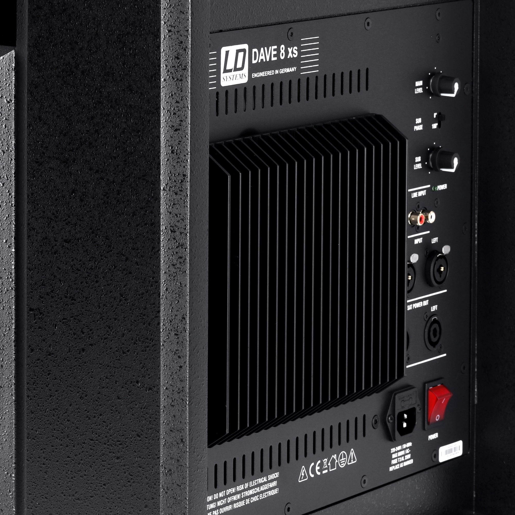 DAVE 8 XS Compact active PA system