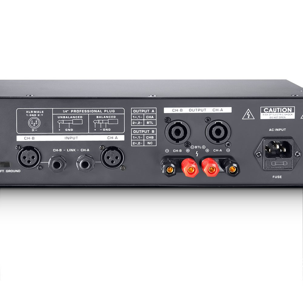 DJ 300 PA Power Amplifier 2 x 150 W 4 Ohm