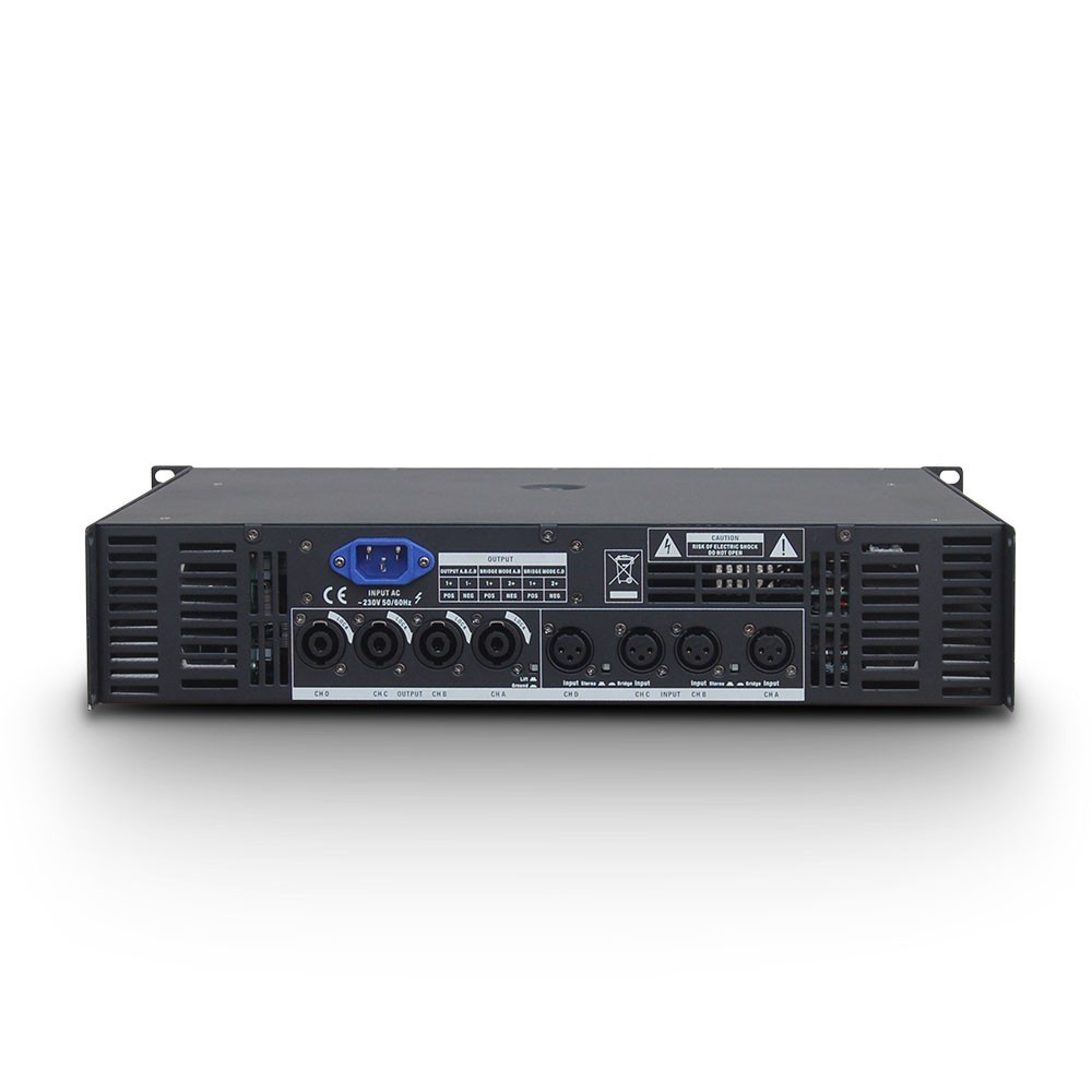 DEEP2 4950 PA Power Amplifier 4 x 810 W 4 Ohms