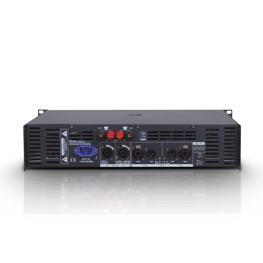 DEEP2 600 PA Power Amplifier 2 x 300 W 2 Ohms