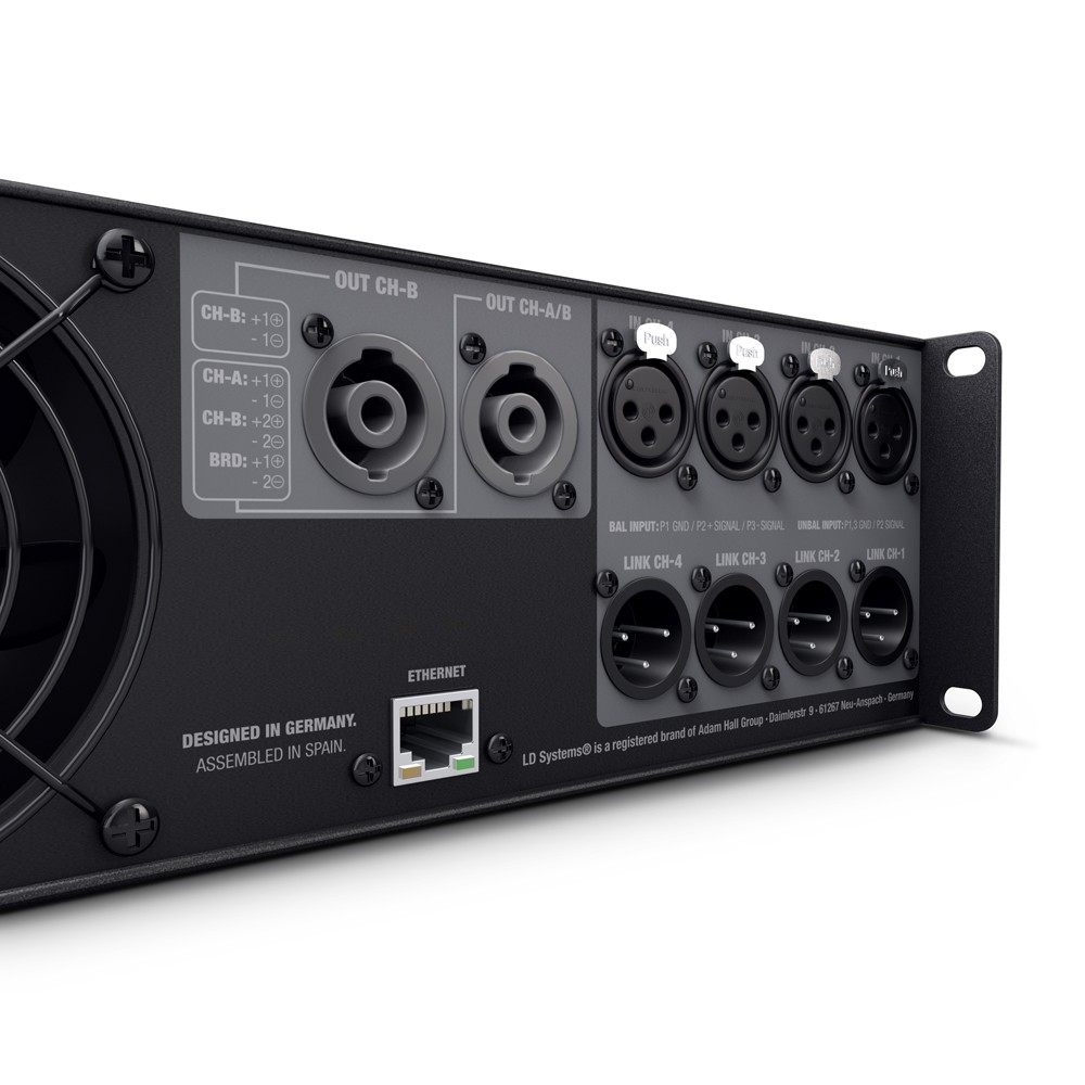 Ld Systems Dsp 45 K Four Channel Power Amplifier Image 5 Product