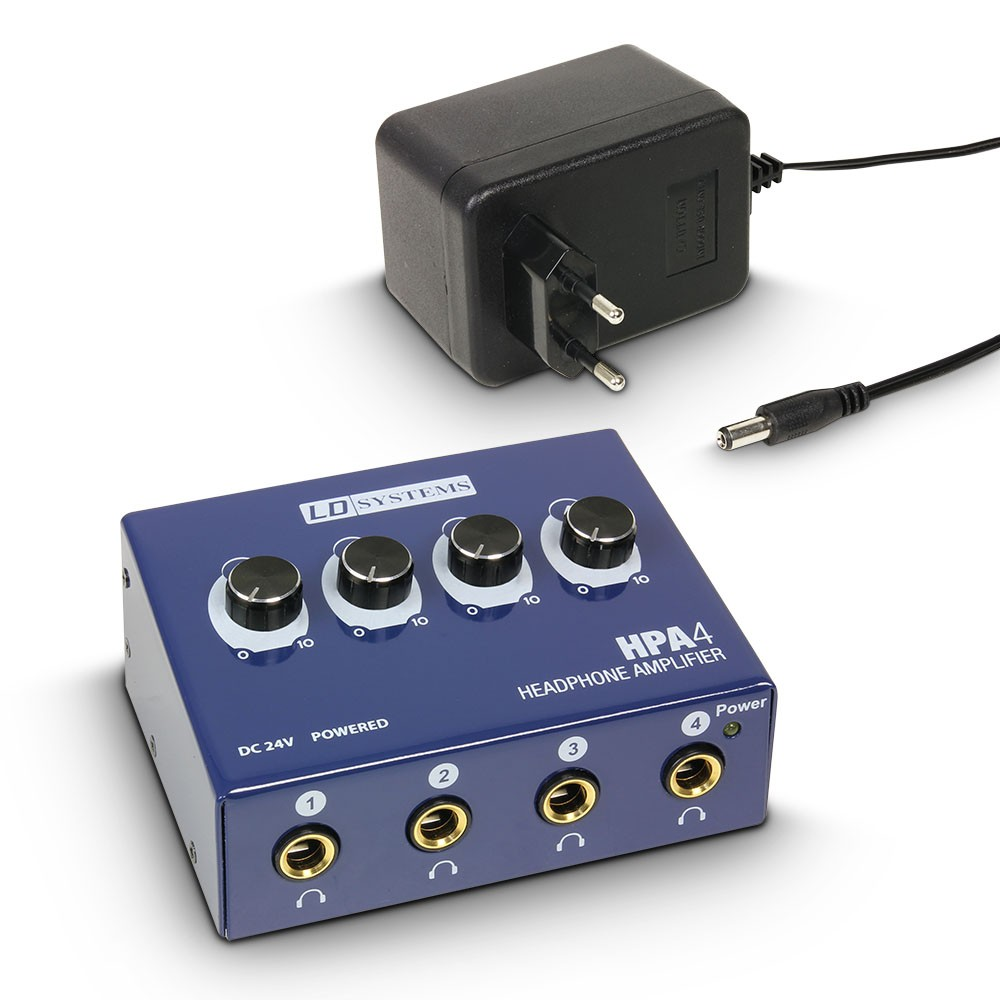 HPA 4 Headphone Amplifier 4-channel