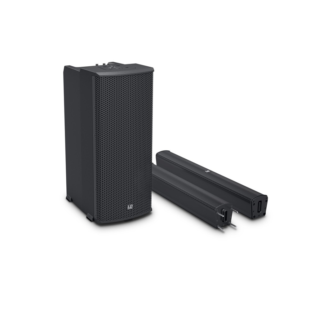 MAUI 11 G2 Portable Column PA System with Mixer and Bluetooth black