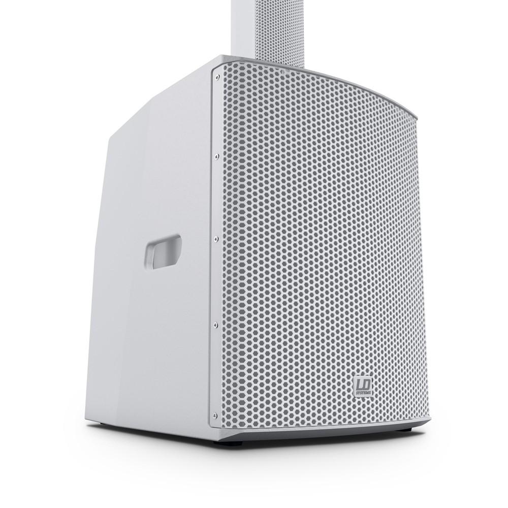 MAUI 28 G2 W Kompaktes Säulen PA System aktiv mit Mixer und Bluetooth weiß