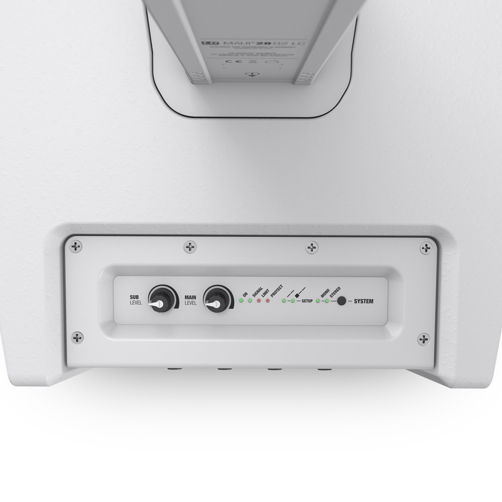 MAUI 28 G2 W Compact Column PA System with Mixer and Bluetooth white