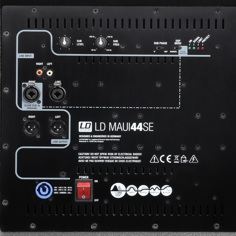 MAUI 44 SUB EXT Subwoofer extension for MAUI 44 systems