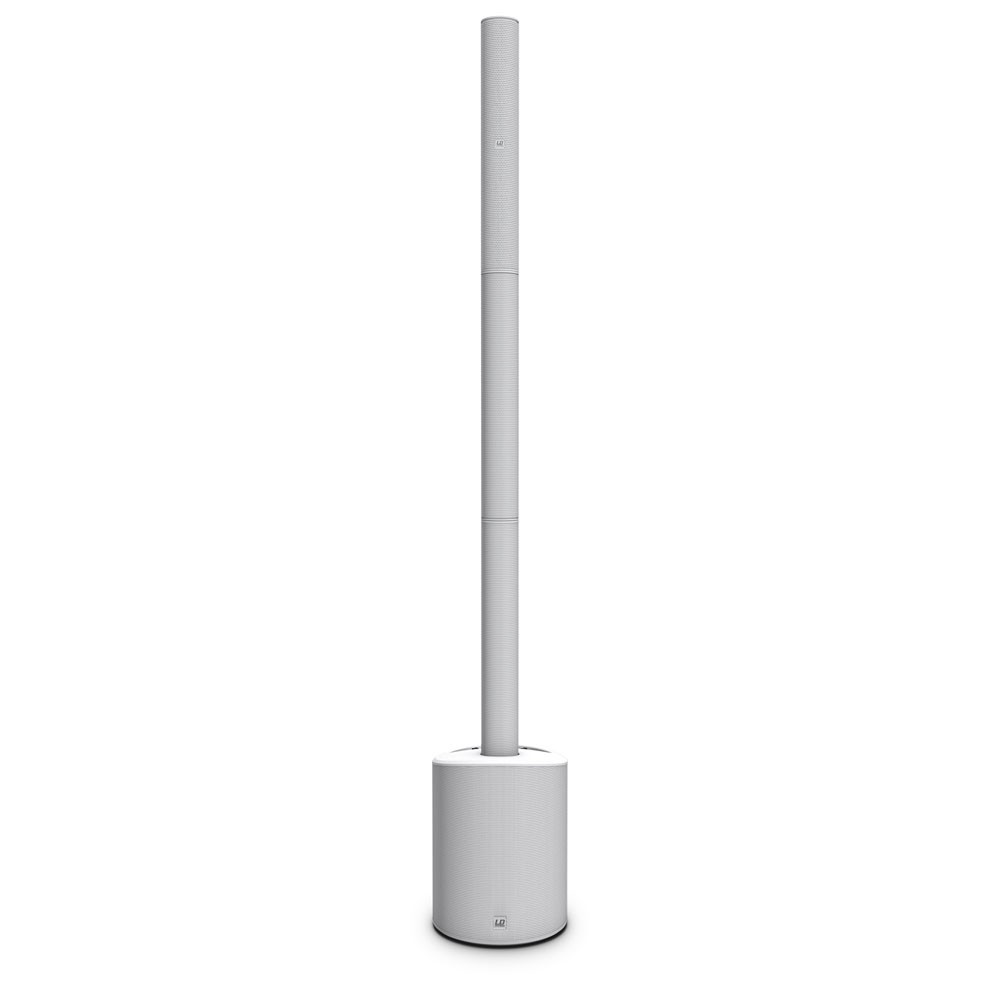 MAUI 5 GO W Ultra-Portable Battery-Powered Column PA System white