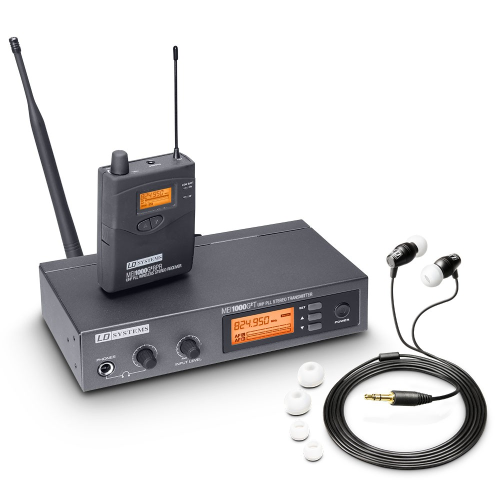 MEI 1000 G2 In-Ear Monitoring System drahtlos