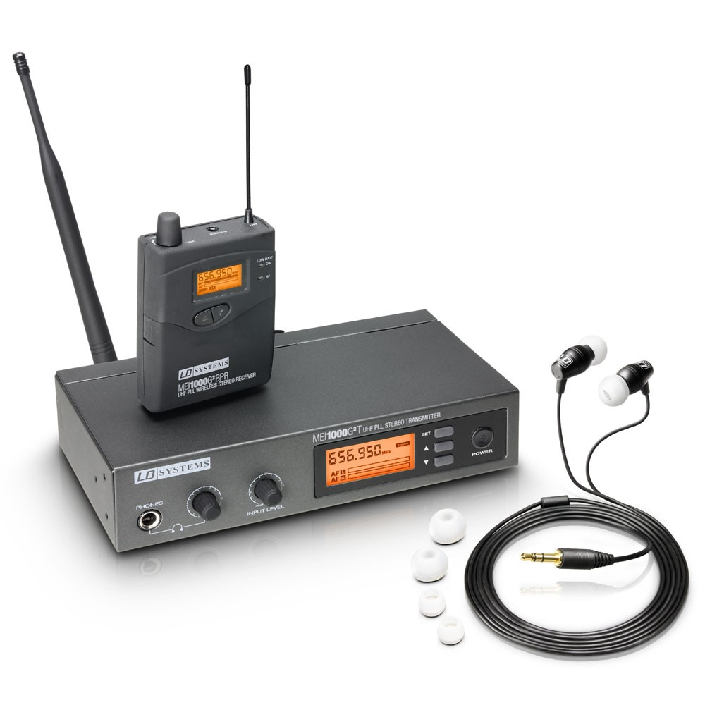 MEI 1000 G2 B 6 In-Ear Monitoring System drahtlos Band 6 655 - 679 MHz