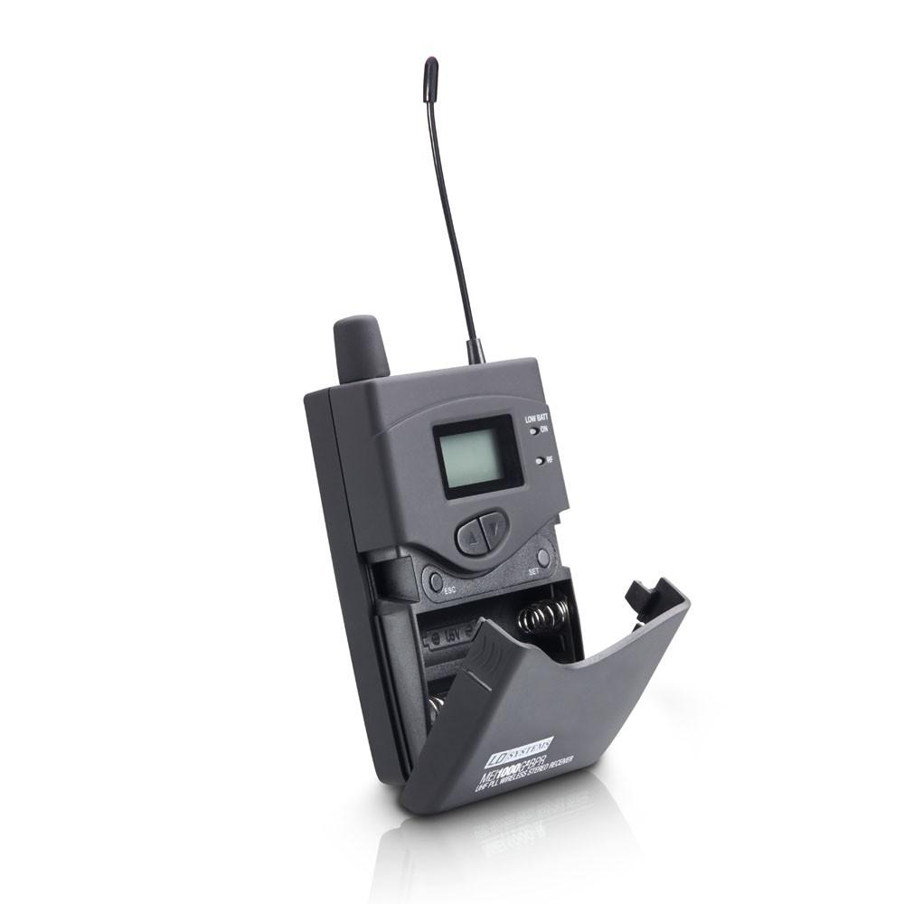 MEI 1000 G2 BPR B 5 Empfänger für LDMEI1000G2 In-Ear Monitoring System Band 5 584 - 607 MHz