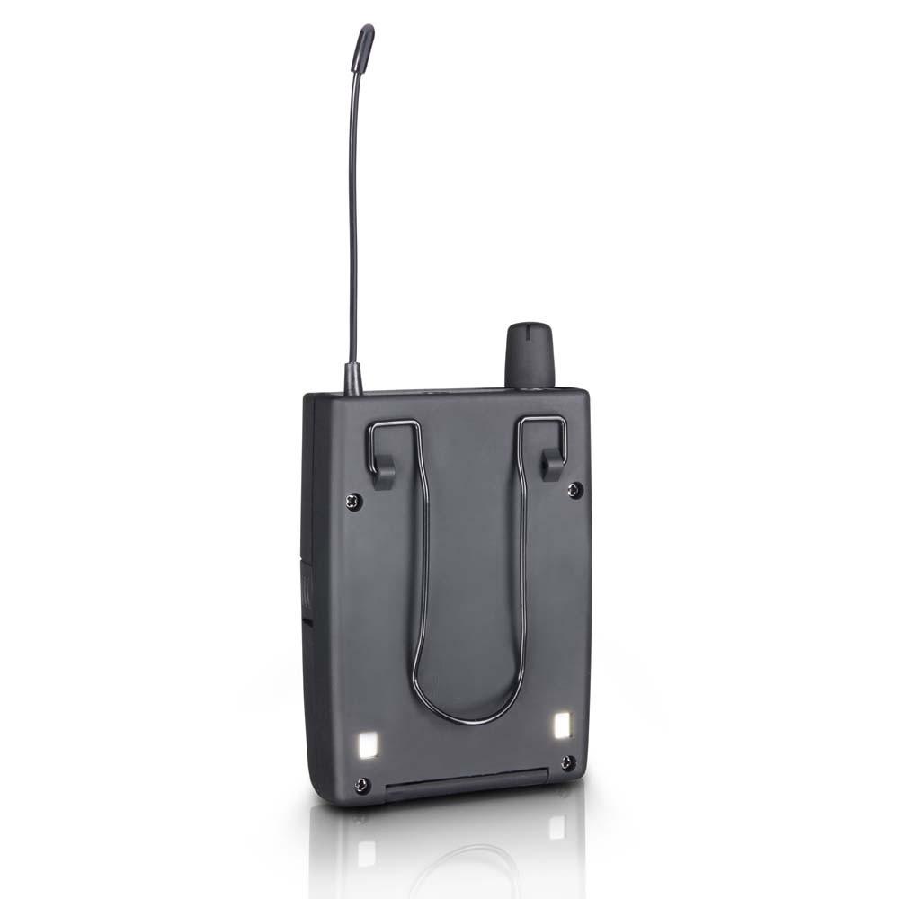 MEI 1000 G2 BUNDLE In-Ear Monitoring System drahtlos mit 2 x Belt Pack und 2 x In-Ear-Kopfhörer