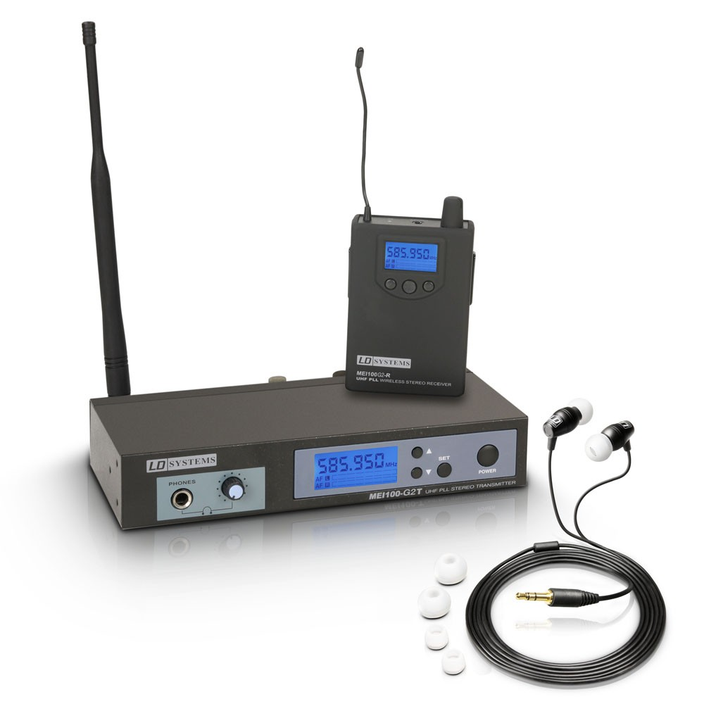MEI 100 G2 B 5 In-Ear Monitoring System drahtlos Band 5 584 - 607 MHz