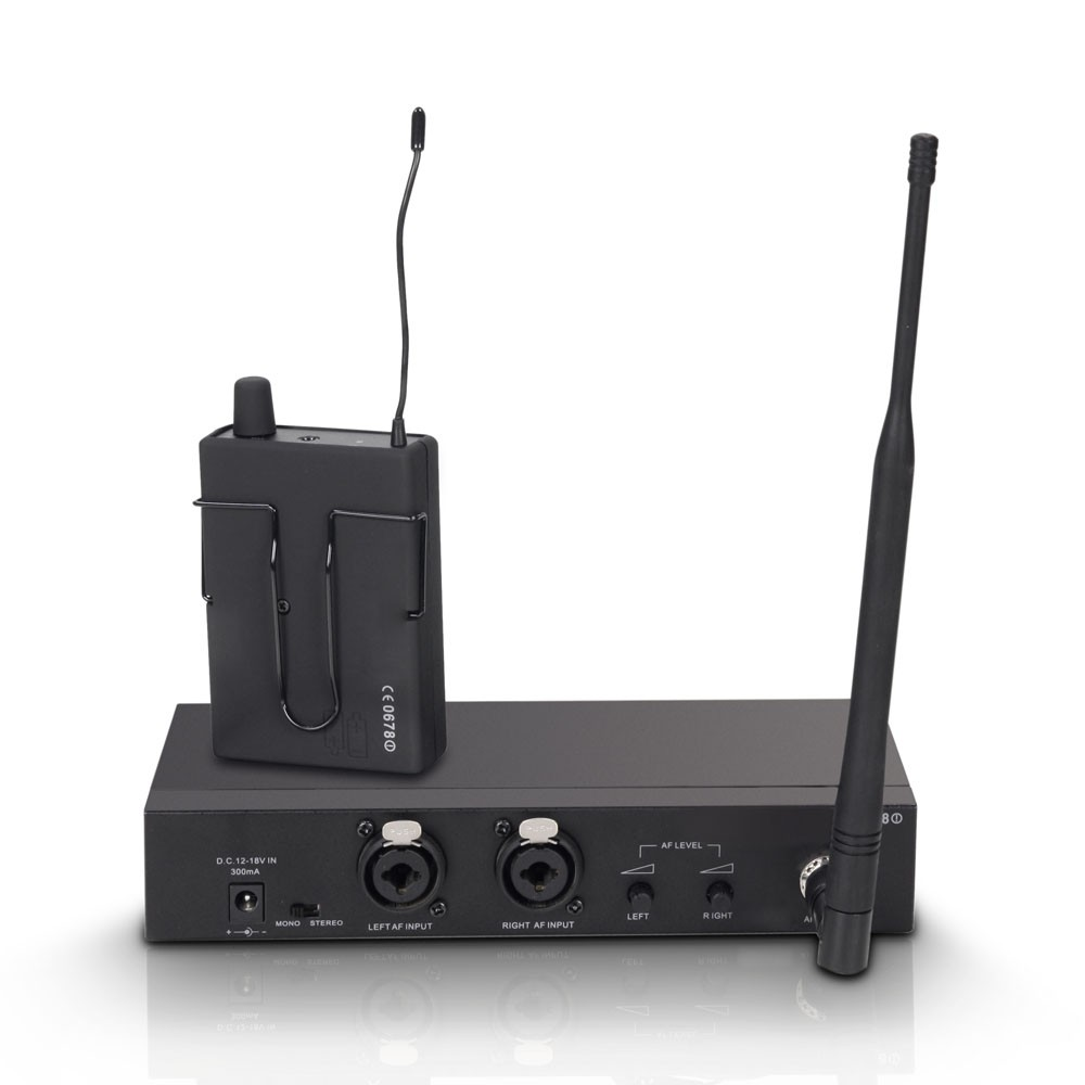 MEI 100 G2 B 6 In-Ear Monitoring System wireless band 6 655 - 679 MHz
