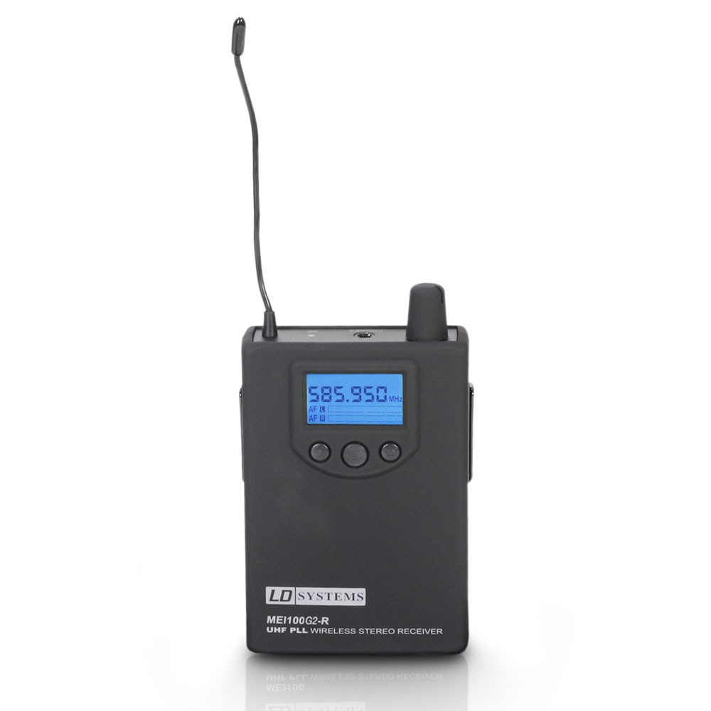 MEI 100 G2 BPR B 5 Receiver for LDMEI100G2 In-Ear Monitoring System band  5 584 - 607 MHz