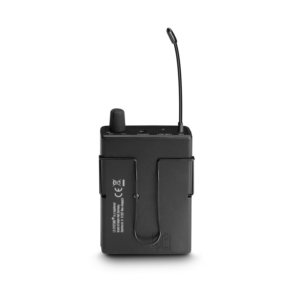 MEI ONE 1 Sistema de Monitoraje inalámbrico In-Ear 863,700 MHz