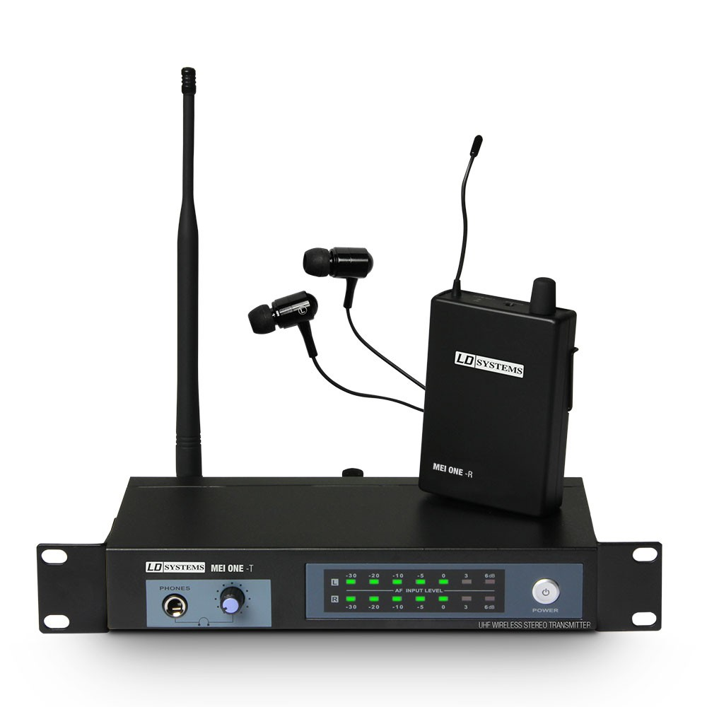 MEI ONE 3 In-Ear Monitoring System wireless 864,900 MHz