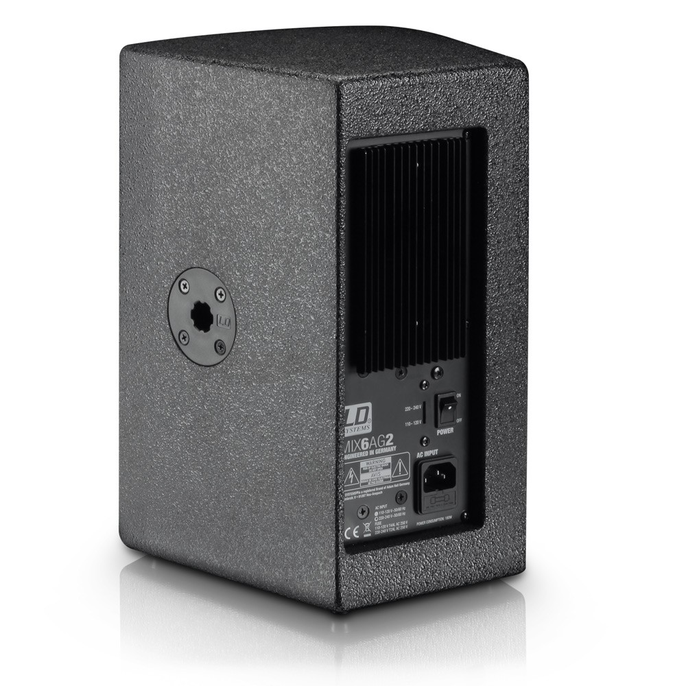 """STINGER MIX 6 A G2 6.5"""" active PA Speaker with integrated 4-channel Mixer"""