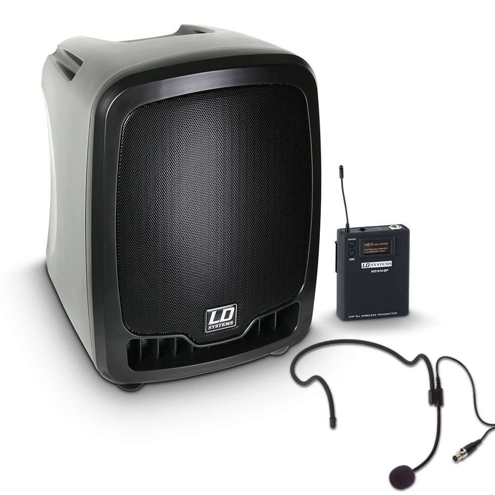 Roadboy 65 HS B6 Portable PA Speaker with Headset