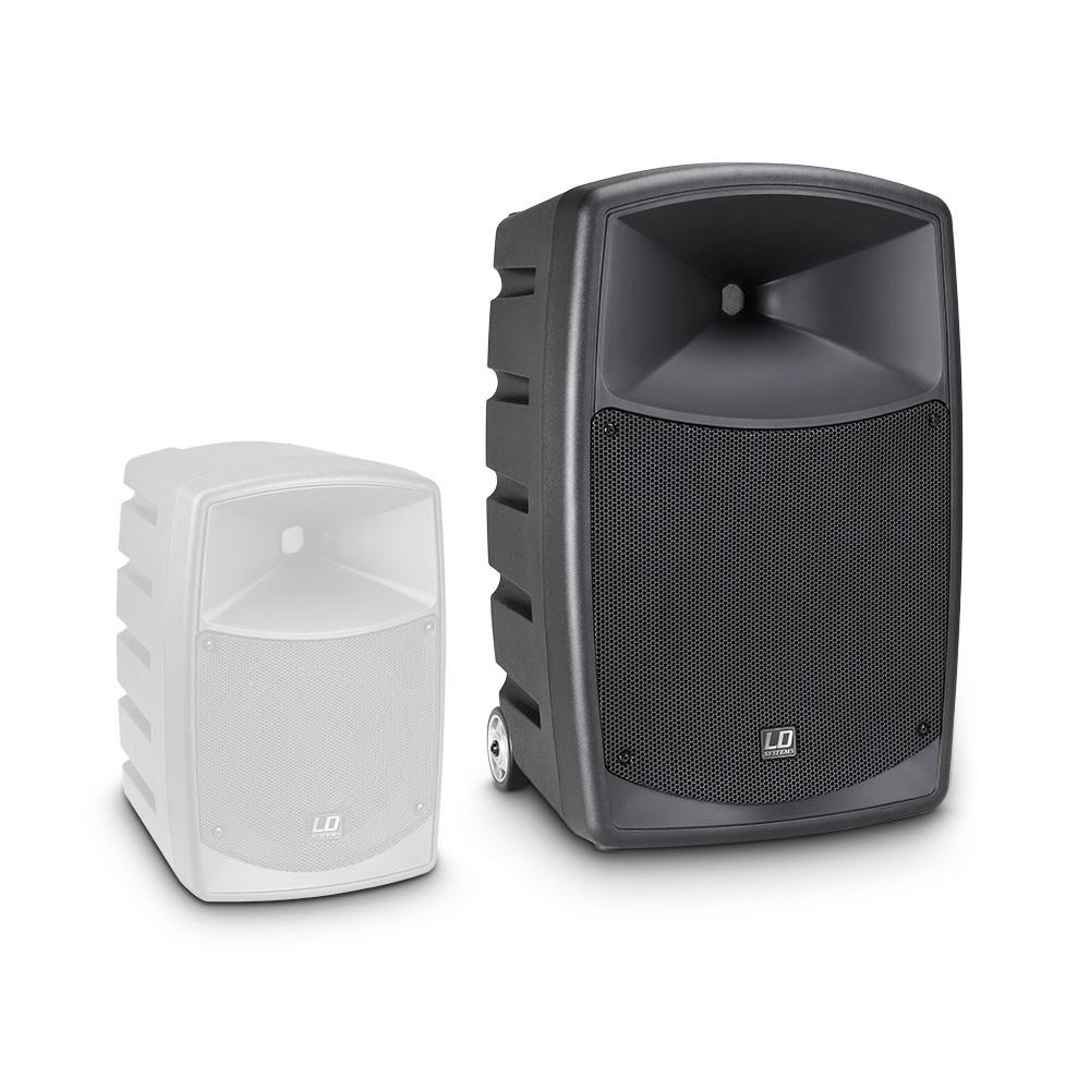 ROADBUDDY 10 B5 Altavoz Bluetooth alimentado por batería, con mezclador y micrófono inalámbrico