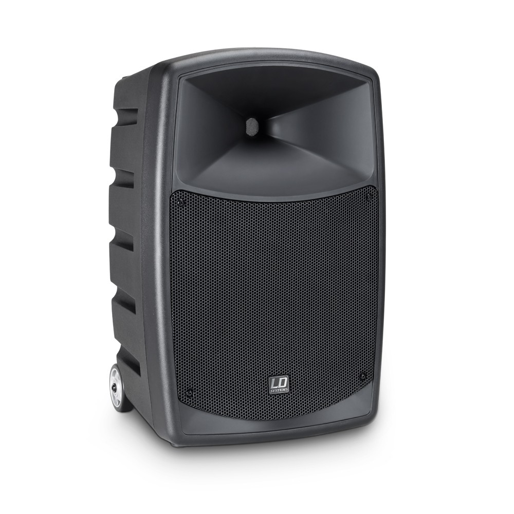 ROADBUDDY 10 HHD 2 Battery-Powered Bluetooth Speaker with Mixer and 2 Wireless Microphones