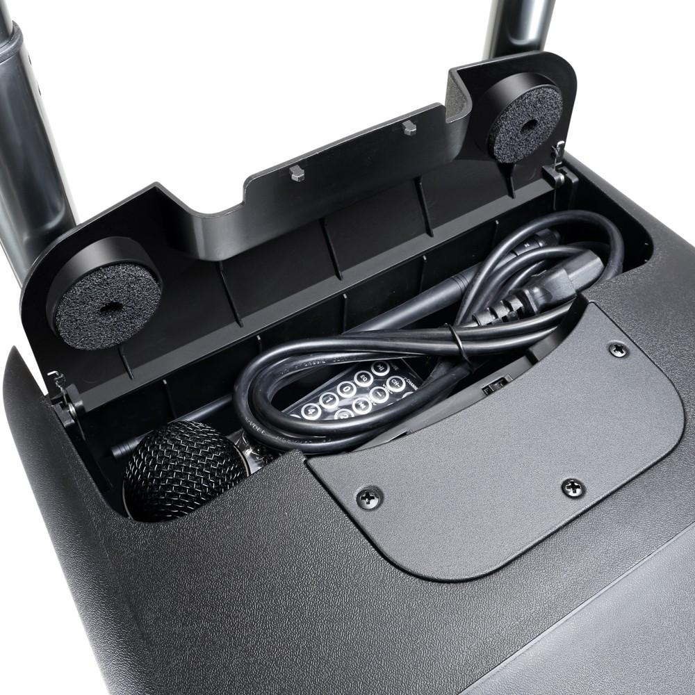ROADBUDDY 10 HHD 2 B6 Akkubetriebener Bluetooth-Lautsprecher mit Mixer und 2 Funkmikrofonen