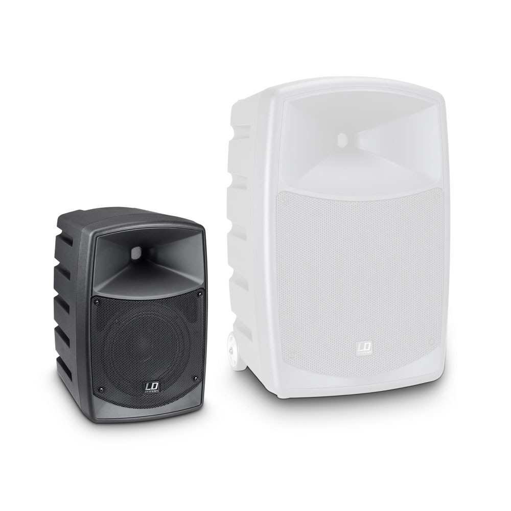 ROADBUDDY 6 HS Battery Powered Bluetooth Speaker with Mixer, Bodypack and Headset