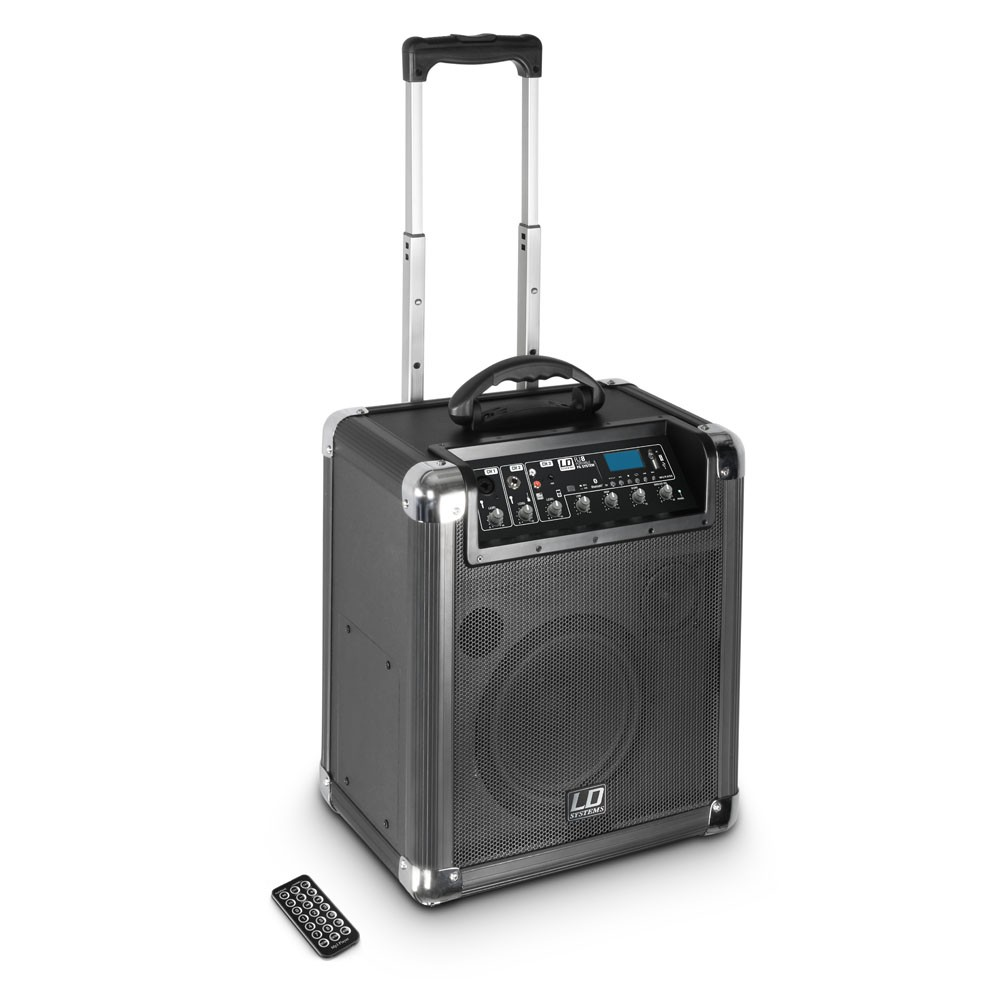 Roadjack 8 Battery Powered Bluetooth Loudspeaker with Mixer